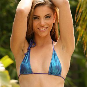 Alex Dane Blue Bikini