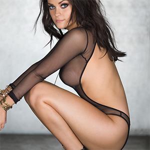 Alexandra Tyler Cute Brunette Playmate