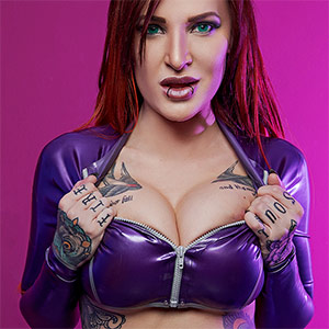 Alexxa Vice Starfire XXX Cosplay