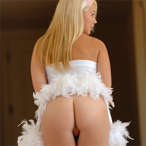 Alison Angel Sexy Bunny Costume