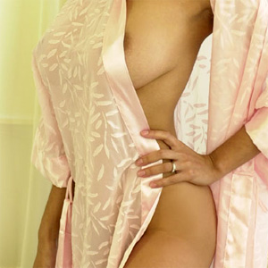 Alley Baggett Silk Robe