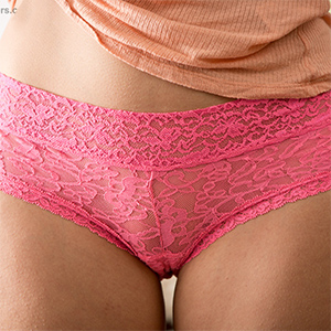 Amabelle Pink Panties Abby Winters