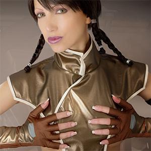 Angela Republic Era Cosplay Erotica