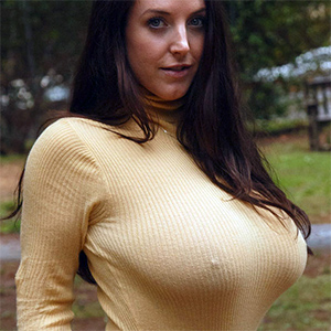 Angela White Sweater Puppies