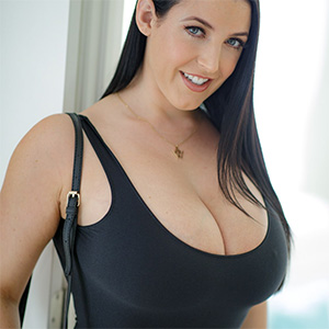 Angela White Serendipity In A Black Dress