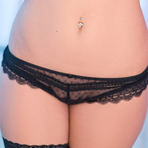 Ann Denise See Thru Panties