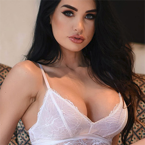 Ann Denise White Lace Lingerie Seduction