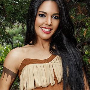 Apolonia Lapiedra Pocahontas XXX Cosplay