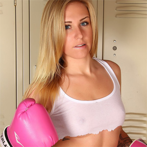 Ashley Vallone Boxing Class