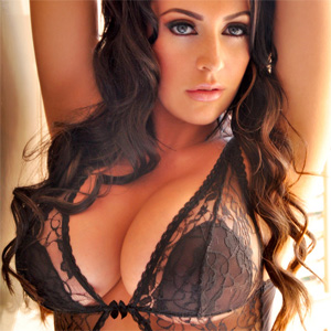 Ashley Emma Black Lace Lingerie