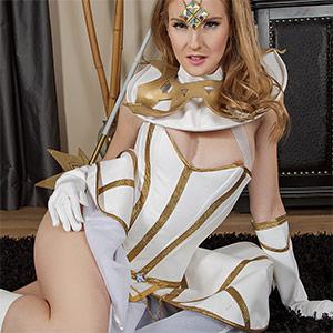 Ashley Lane Luxanna Crownguard XXX Cosplay