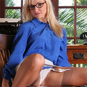 Audrey Frisky Secretary Office Fantasy