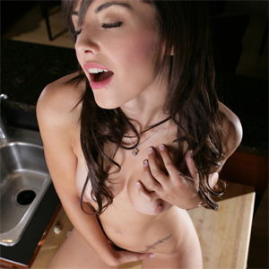 Autumn Riley Naked In Kitchen