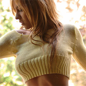 Ayelen Busting Out Of Her Sweater