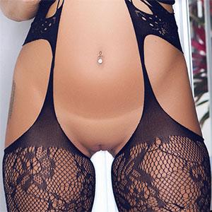 Barbra Lee Sexy Black Lace Lingerie