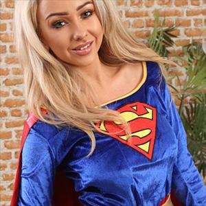 Bethany M Supergirl Costume