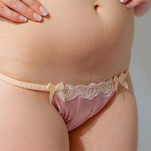 Bex Pink Silk Panties