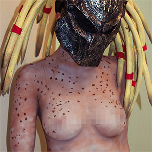 Brooke Marks Predator Girlfriend Cosplay