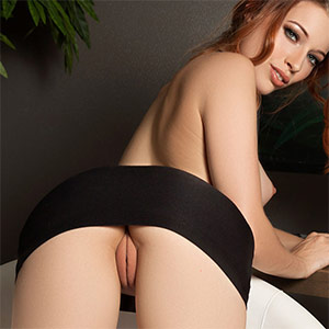 Caitlin McSwain Office Antics Playboy