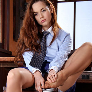 Caitlin Cute Secretary Office Fantasy