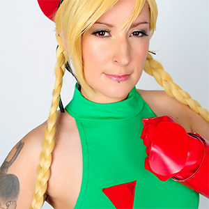 Cammy Street Fighter Cosplay Mate