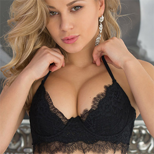 Candice Brielle Erotic Black Lingerie