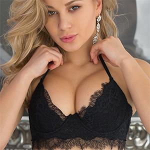 Candice Brielle Erotic Black Lingerie
