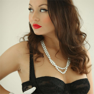 Carla Brown Red Lipstick
