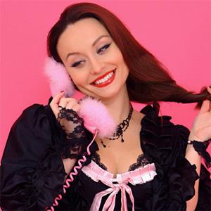 Carla Brown Phone Call Pinup