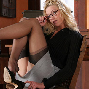 Carli Banks Secretary Office Fantasy