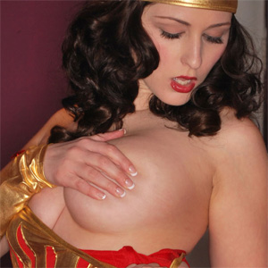 Carlotta Champagne Wonder Woman Cosplay