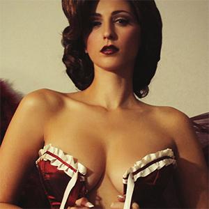 Carlotta Champagne Hollywood Xmas