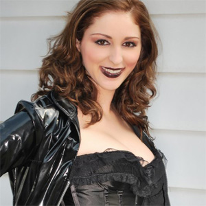 Carlotta Champagne Goth Halloween