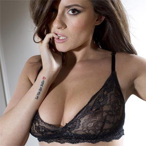 Charlie Rose Black Lingerie