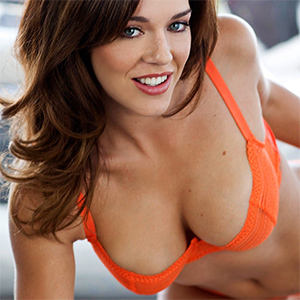 Charlie Boyde Orange Lingerie Beauty
