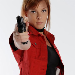 Claire Redfield Extreme Cosplay