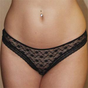 Conny Sheer Panties Tease