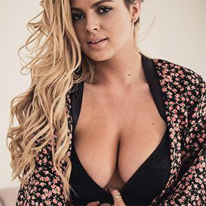 Danielle Sellers Wears Sexy Dusk Lingerie