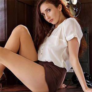 Darci Mini Skirt Intern for Office Fantasy