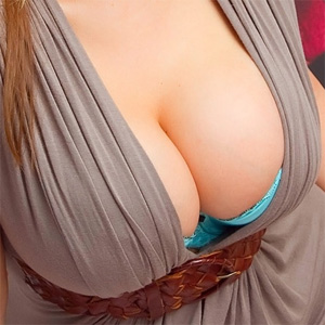 Dayna Dressed Up Cleavage