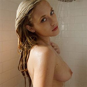 Ember Volland Takes a Nude Shower