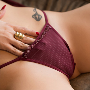 Emiliana Agacci Purple Panties Bella Club