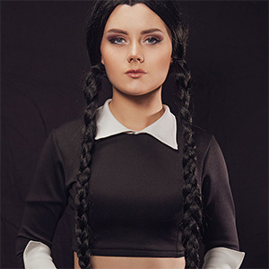 Emily Cutie The Addams Family VR Cosplay X