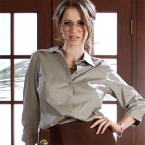 Emily Addison Nerdy Secretary