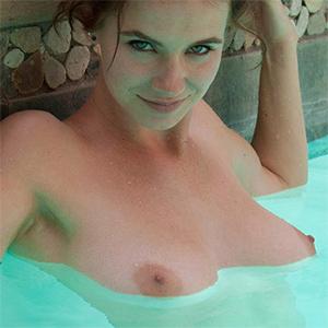 Essie Halladay Naked Swim Season
