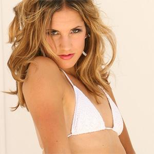 Eva White Bikini