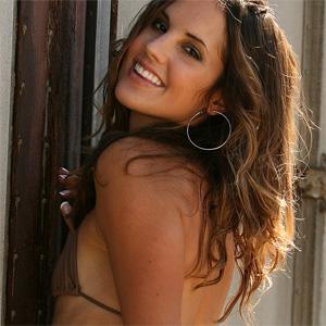 Eva Brown Bikini