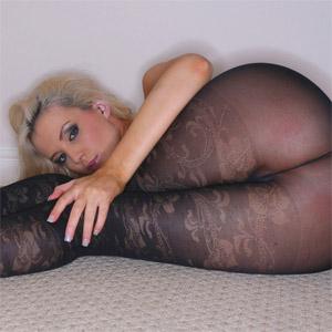 Faye Taylor Black Stockings