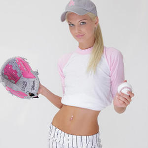 Francesca Baseball Fan