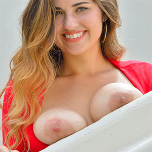 Gianna Red Dress Date for FTV Girls